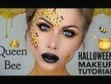 DIY Bee Hive Costume Easy Step by Step Tutorial Create your own Bee Hive Costume for Halloween Find images accessories a tutorial for your perfect DIY makeup with little bees This image has get 35 repins Author Kharen Spence Bee Costume Diy Easy Hive maskerixcom Step Tutorial #makeupdiy #diymakeup