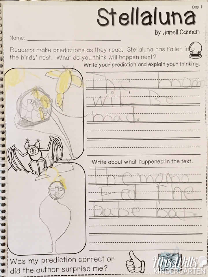 Stellaluna Lesson Plans  Stellaluna Poetry Center And Kindergarten