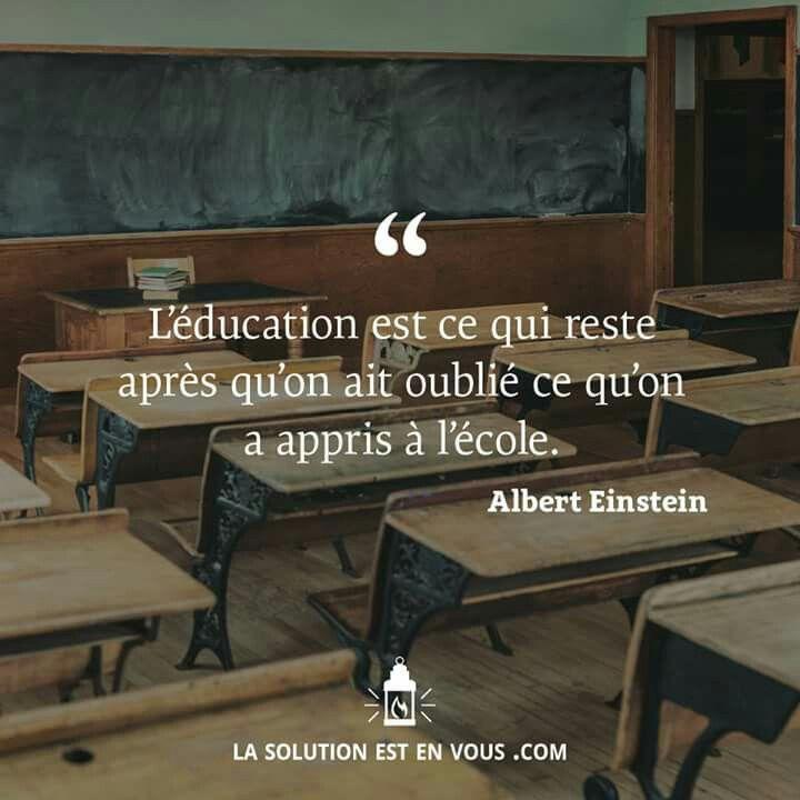 #éducation #ecole #Einstein