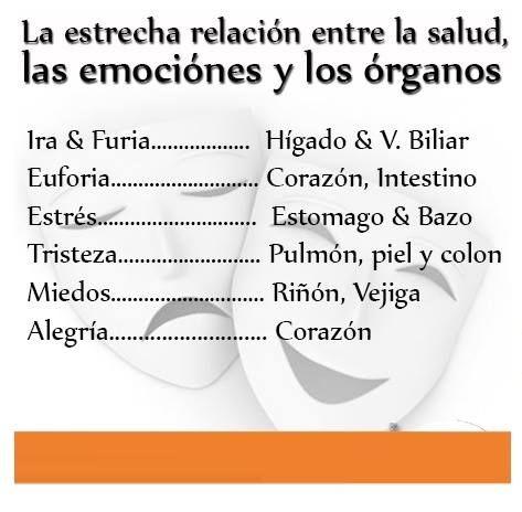 RELACIÓN ENTRE SALUD Y TUS EMOCIONES...