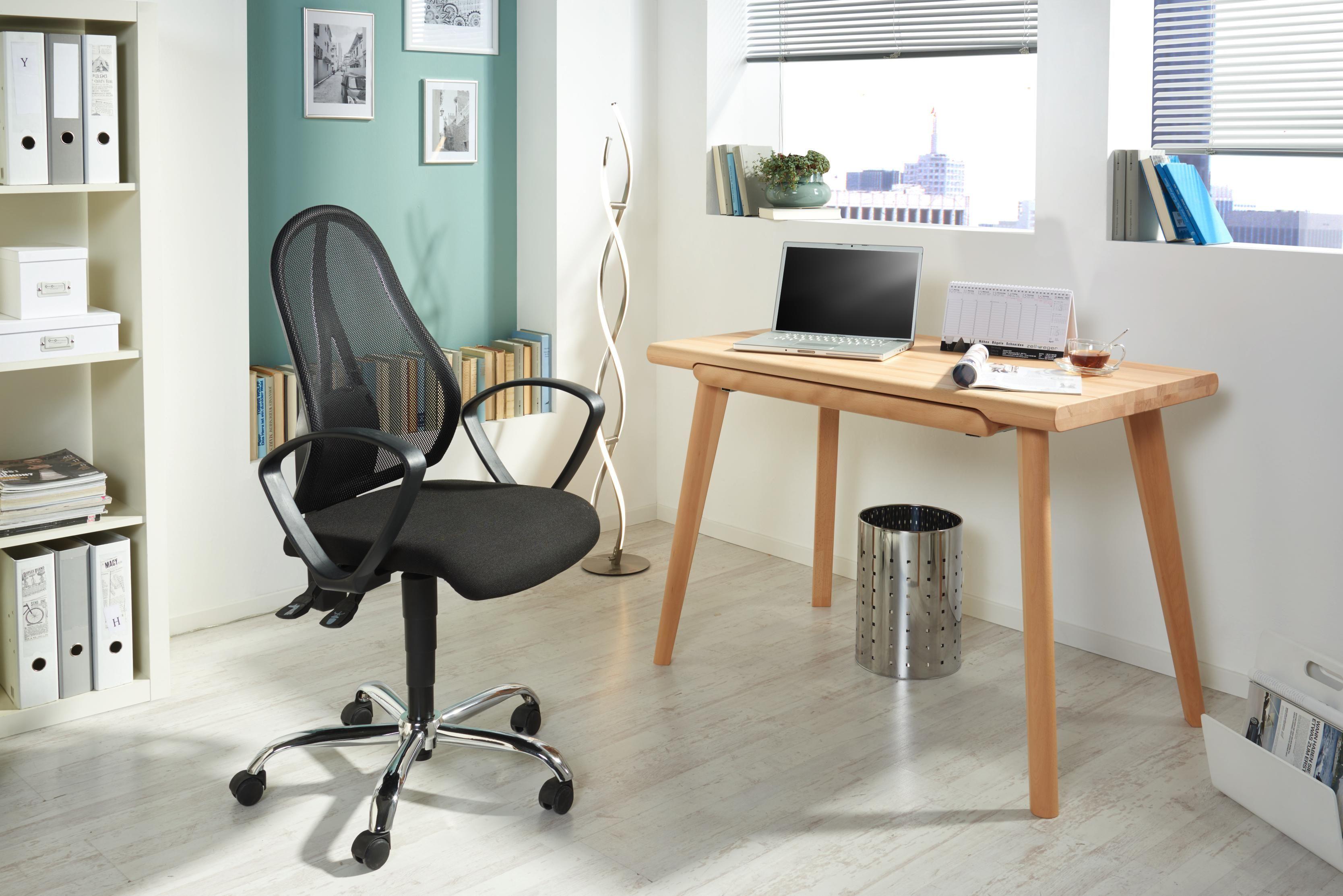 Design Arbeitszimmer ~ Schreibtisch aus buchenholz klein aber oho arbeitszimmer