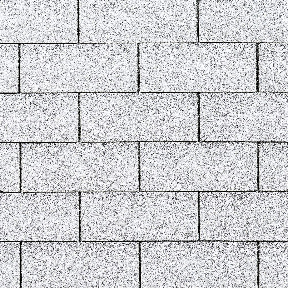 Owens Corning Supreme Shasta White 3 Tab Metric Asphalt Roofing Shingles 33 3 Sq Ft Per Bundle Ek12 The Home Depot In 2020 Roof Shingles Asphalt Roof Shingles Shingling