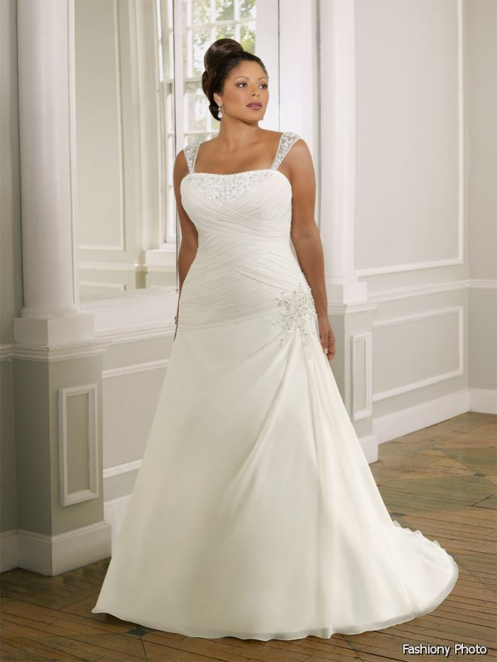 Perfect Pictures Of Wedding Dresses For Fuller Figures 2014 2015 Good Looking