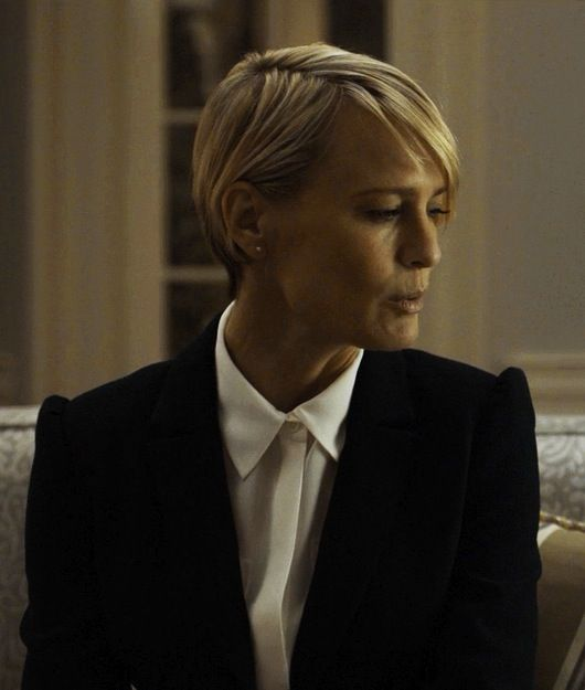 Robin Wright Haircut: Style Story / Claire Underwood In 2019