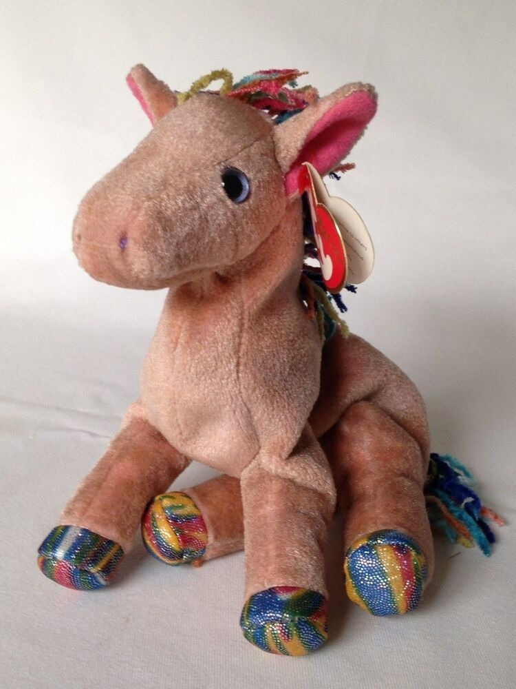 eBay  Sponsored Ty Beanie Baby Zodiac Collection HORSE W  Tag Retired 2000 15846075dd3a