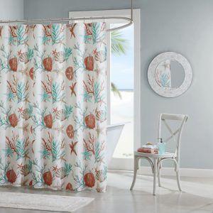 Sand Dollar Shower Curtain Hooks