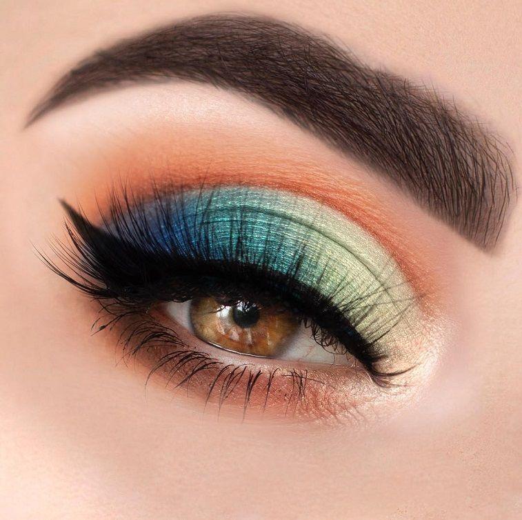Stunning Eye Makeup Looks To Inspire You - eye makeup for blue eyes ,brown eyes , eye shadow #makeup #eyeshadow #beauty