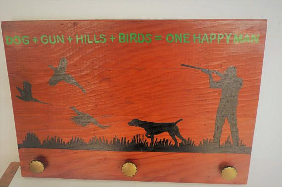 Hunters Man Cave Signs : Hunting decor gifts for hunters man cave hat holder bird