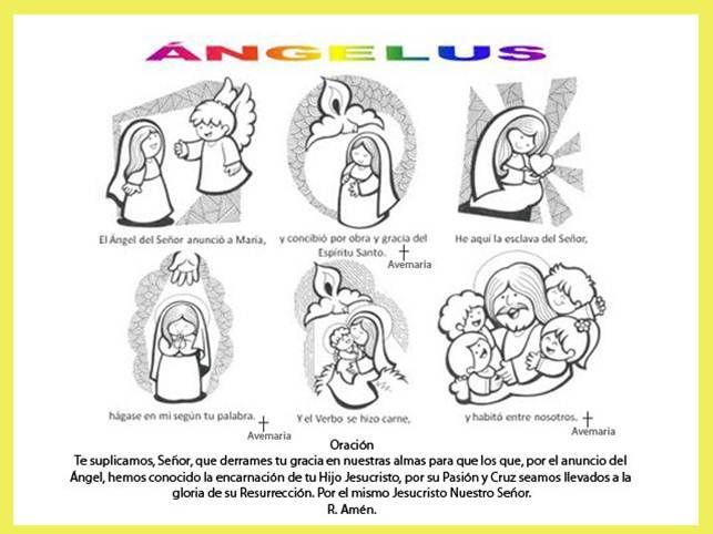 Angelus 25 De Marzo 9 Meses Antes De Navidad Zonia Revilla