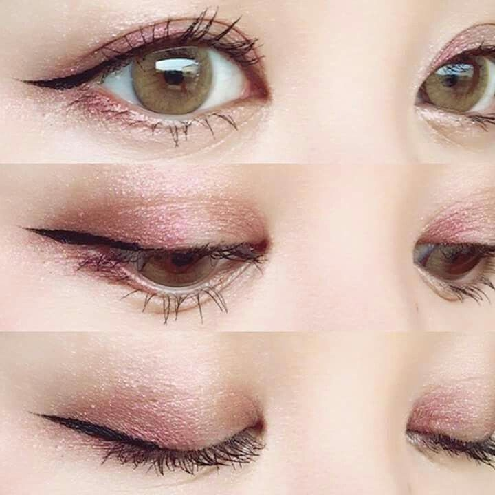 Always Trying To Recreate This Subtle Cat Eye Line And I Always