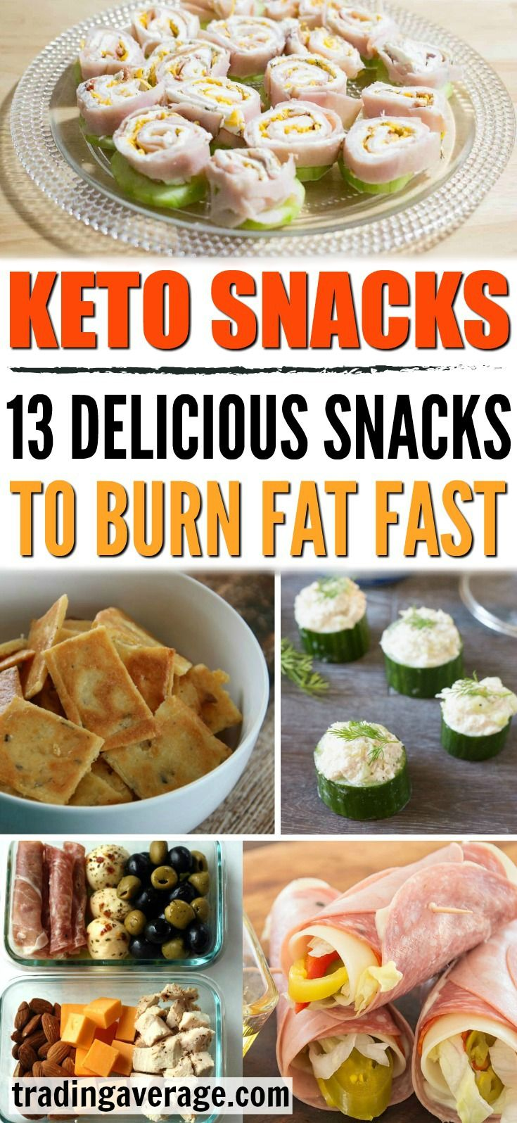 Keto Snacks: 13 Low Carb Snacks To Help You Burn Fat Fast images