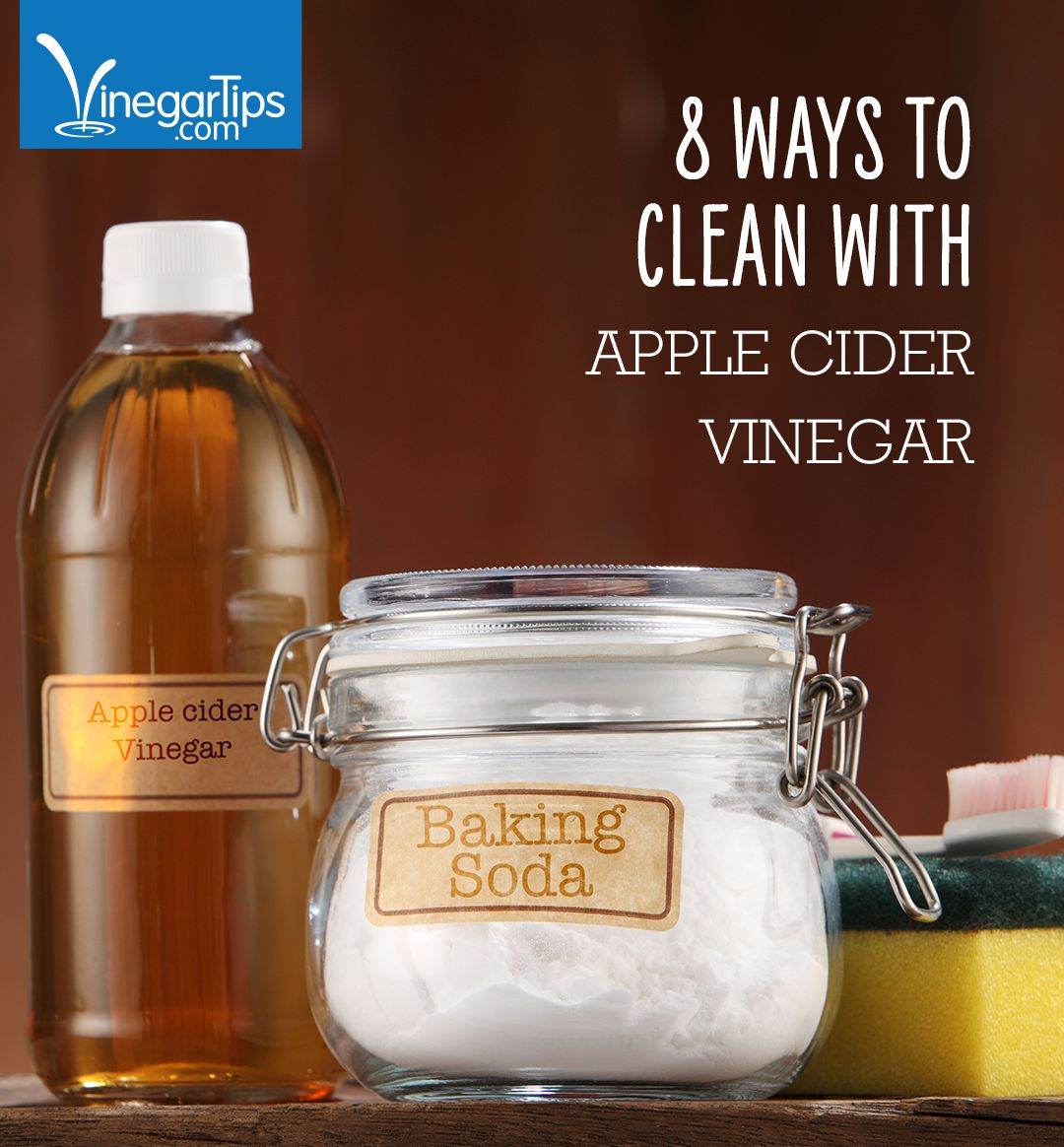 8 Ways to Clean With Apple Cider Vinegar (With images