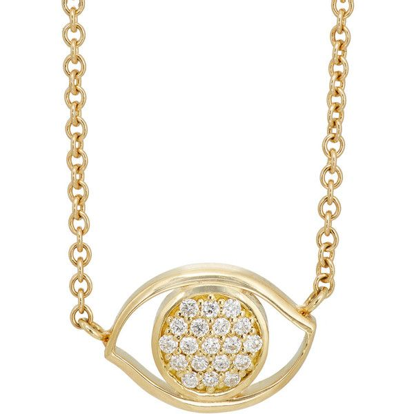 Ambre Victoria Jewelry Womens Evil Eye Pendant Necklace TUWpG