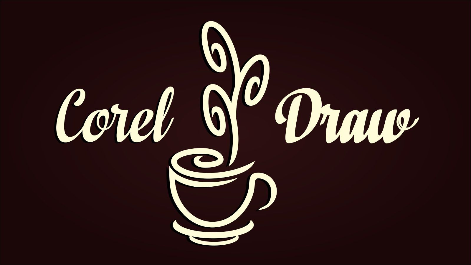 Poster design using coreldraw tutorial - Coreldraw X8 Simple Corel Draw Logo Design Tutorial