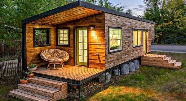 Estilos variados de casas prefabricadas contenedores y - Cabanas casas prefabricadas ...