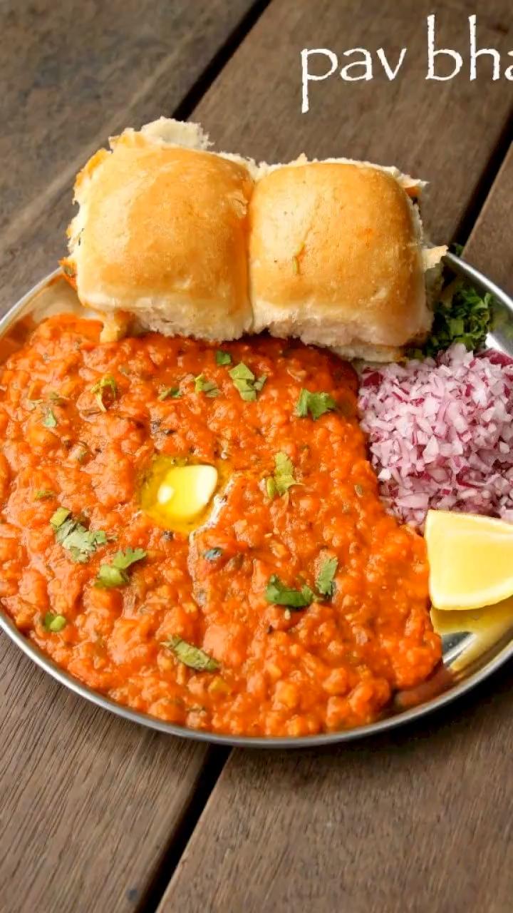pav bhaji recipe | easy mumbai style pav bhaji rec
