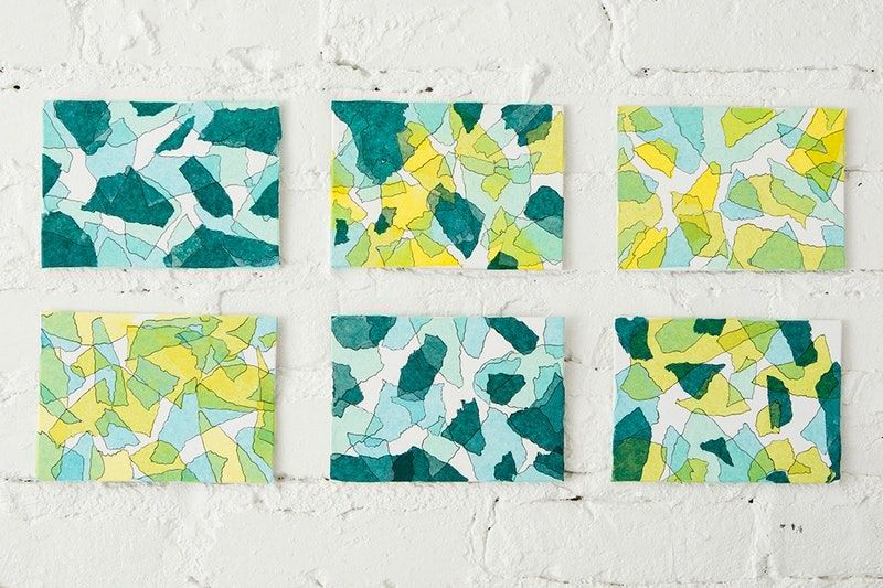 This Is the Easiest *and* Cheapest Way to Make Wall Art   Tissue ...