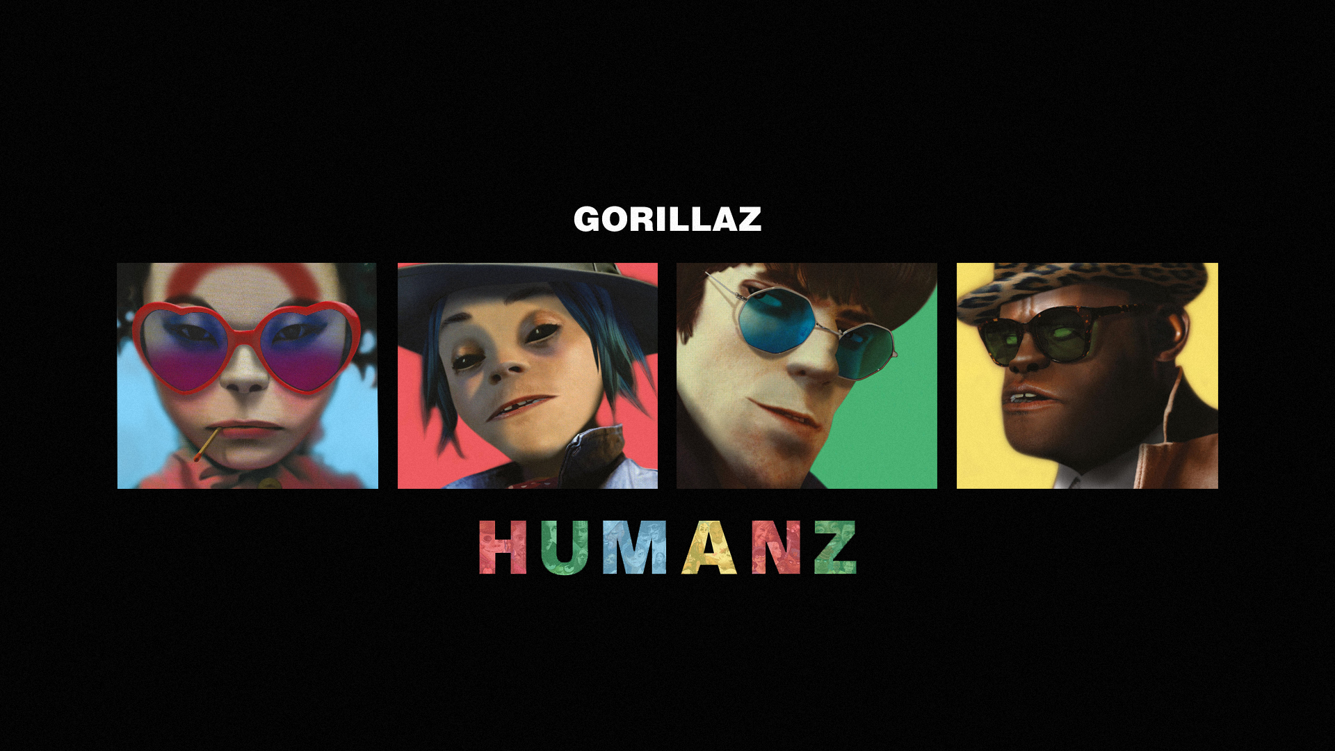 Gorillaz Humanz Desktop Wallpaper (1920x1080) Need