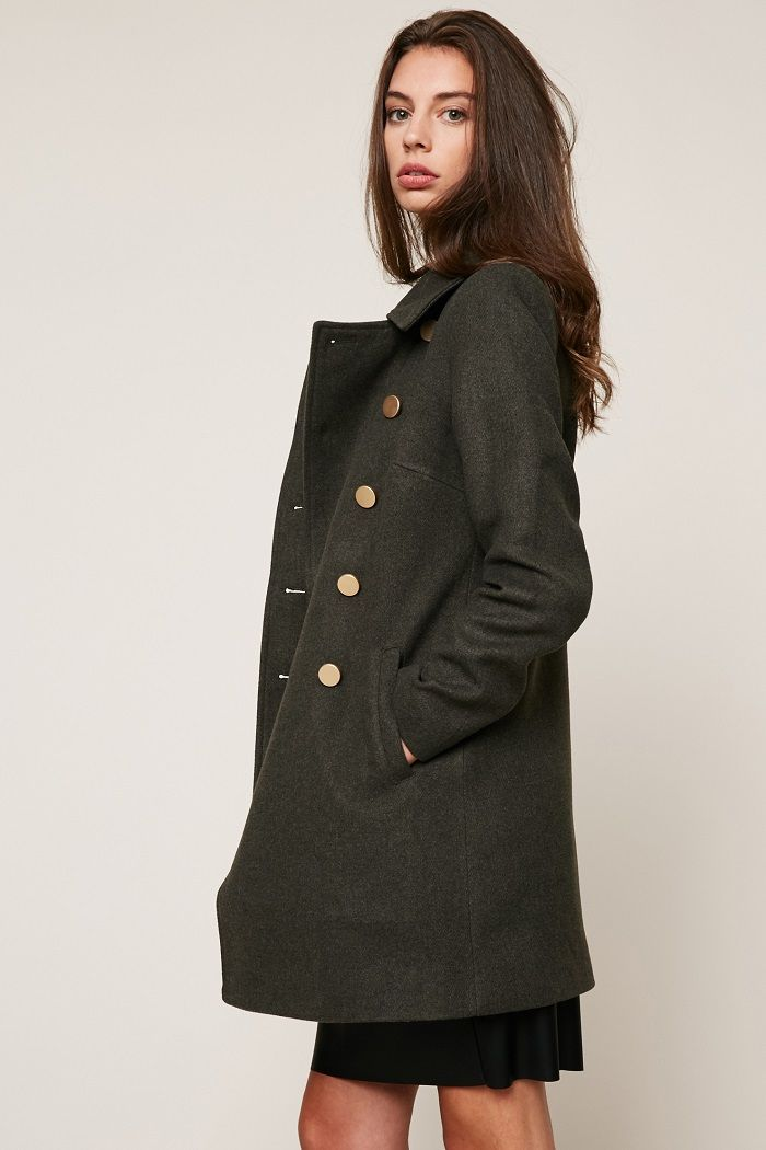Manteau femme style pas cher