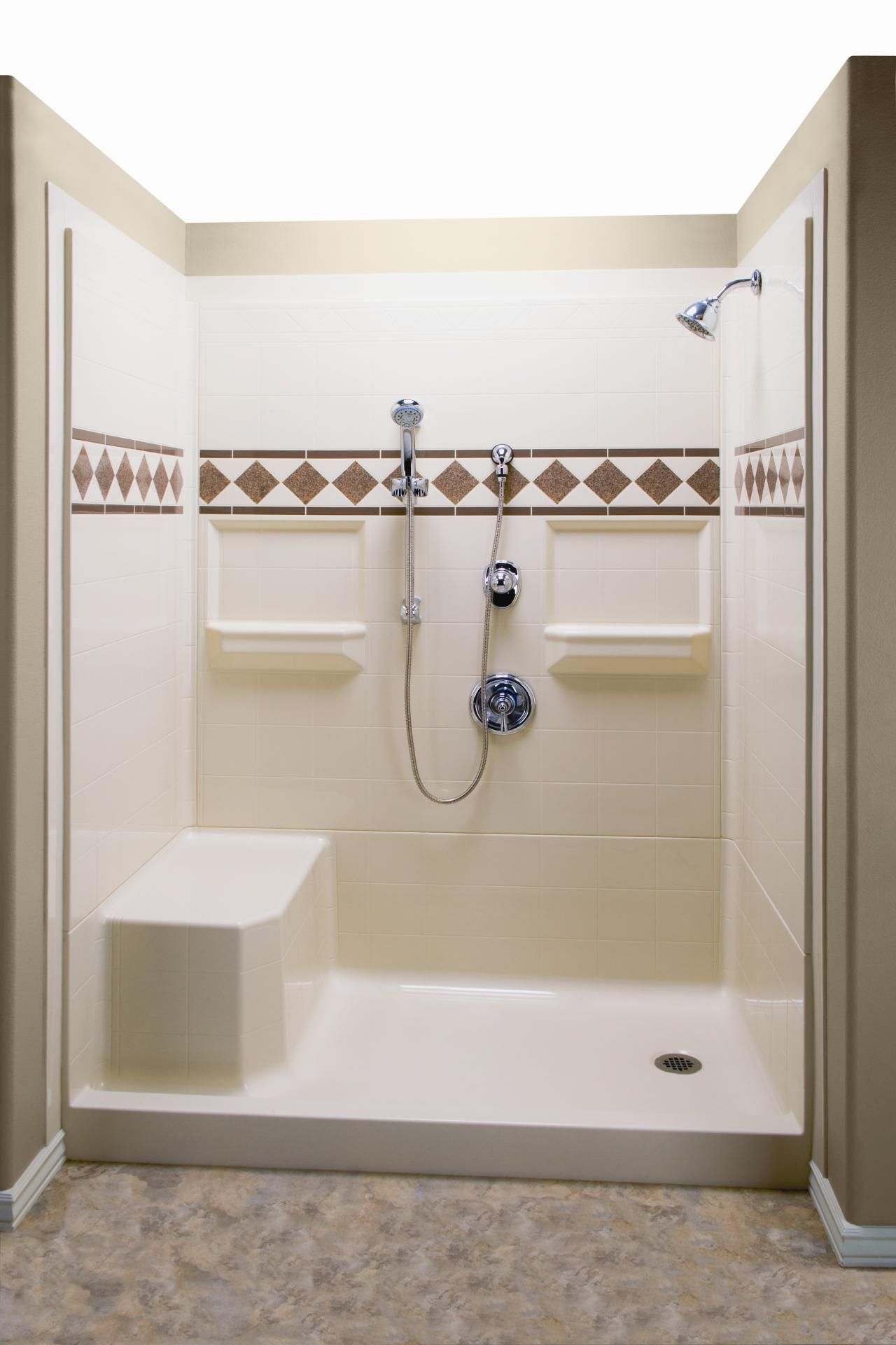 Shower With Built In Bench Google Search Fiberglass Shower