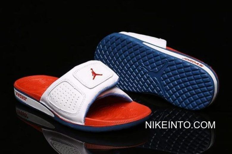 2c3f165d1 2019 的 Women Men New Air Jordan Hydro 3 III Retro White Fire Red ...