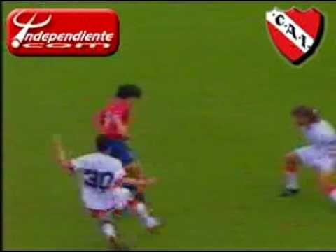 Independiente - Golazo Del Cuqui Silvera A Huracan