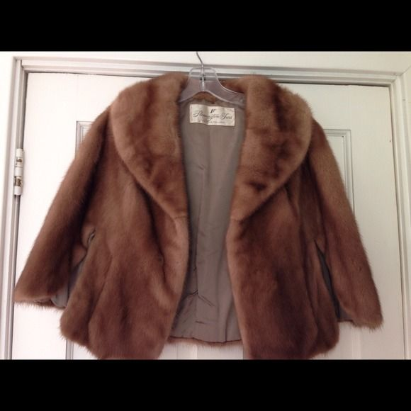 Vintage style REAL FUR Autumn Haze Mink Coat/Stole | Mink, Fur ...