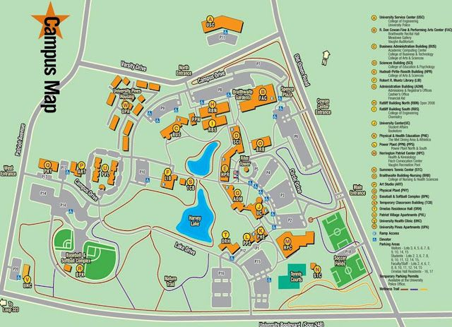 Campus Map Our Campus Campus Map Electronics Map