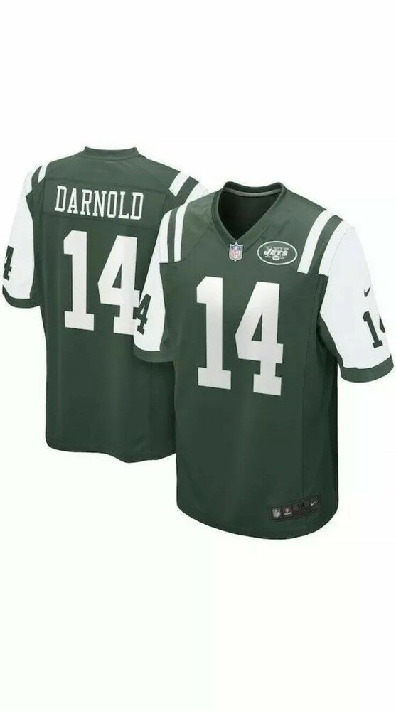 Nike NFL Sam Darnold New York Jets Jersey  14 New Green 468963 377 S-XXL   Nike  NewYorkJets 8a1686490