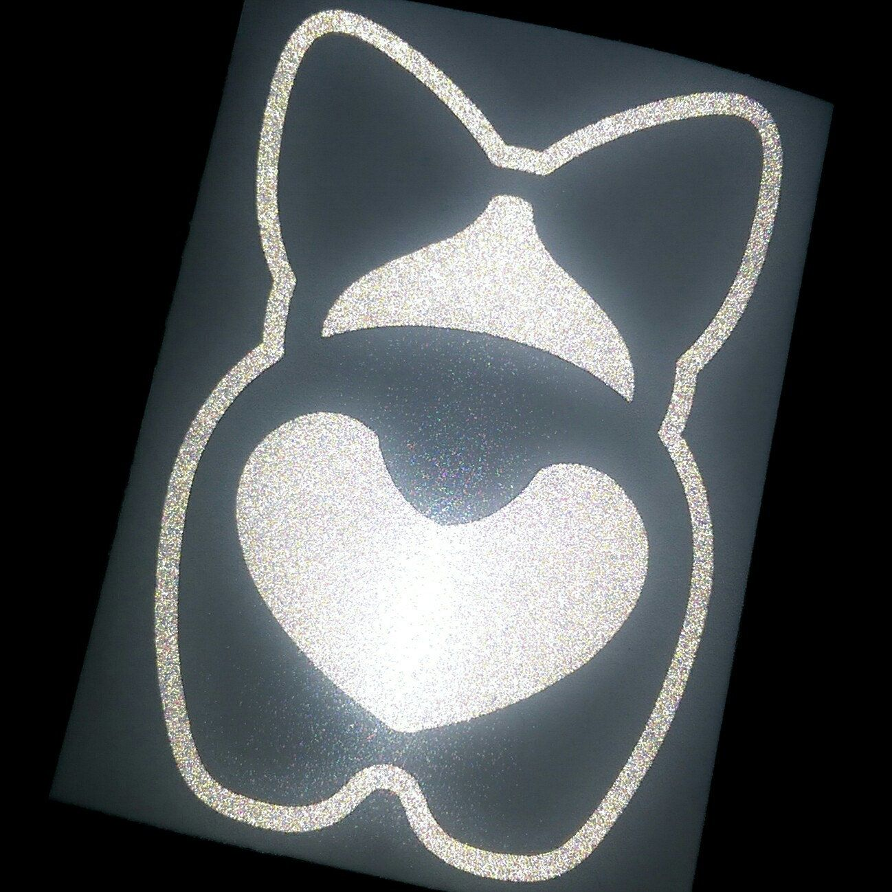 """THICK GIRL DECAL STICKER  Quality Vinyl 8/""""H X 10/""""W buy 2 get one free"""