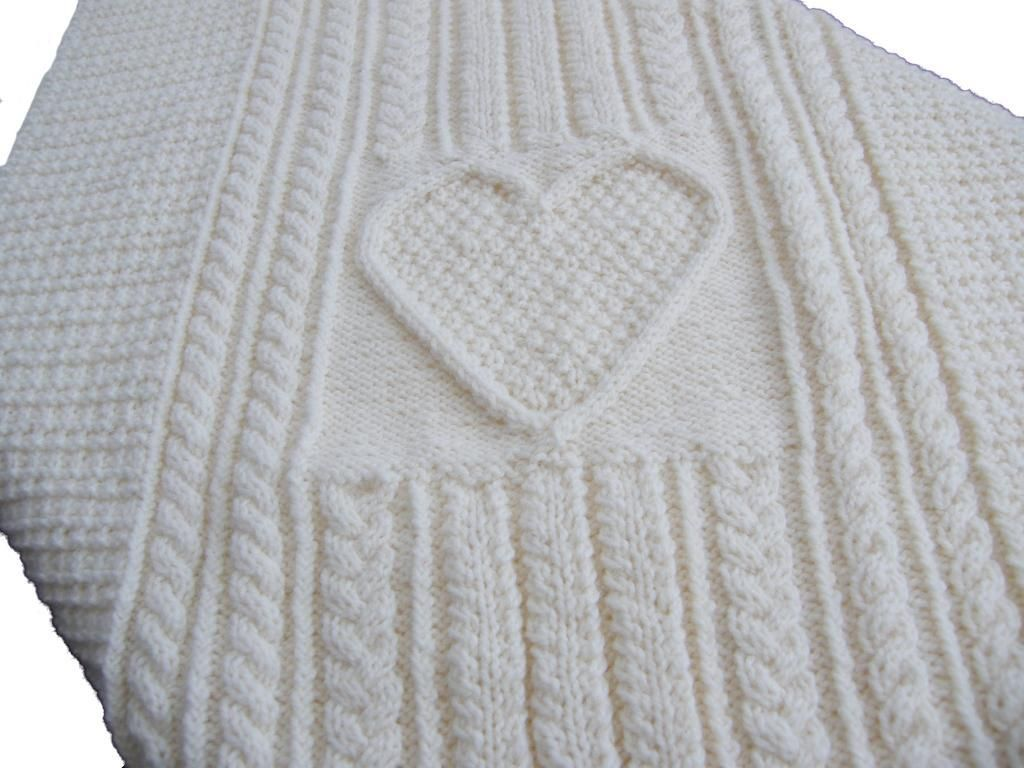 Knitting Supplies Singapore : Cridhe irish heartbeat baby blanket patterns i d like to