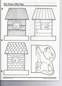 L Histoire Des Trois Petits Cochons : histoire, trois, petits, cochons, Petits, Cochons,, Maisons, Trois, Cochons