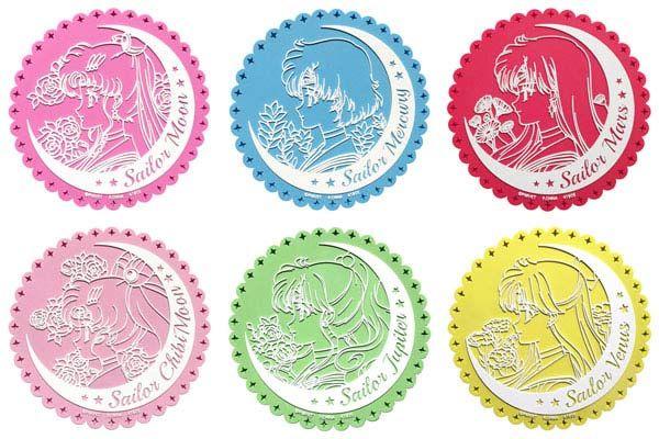 Sailor Moon Crystal Rubber Coaster **Preorder**