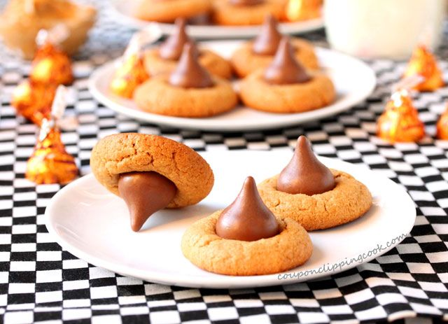 Chewy Peanut Butter Blossom Cookies | Coupon Clipping Cook