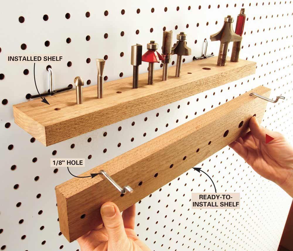 Custom Tool Wall: Cheap Workshop Storage Solutions You Can DIY