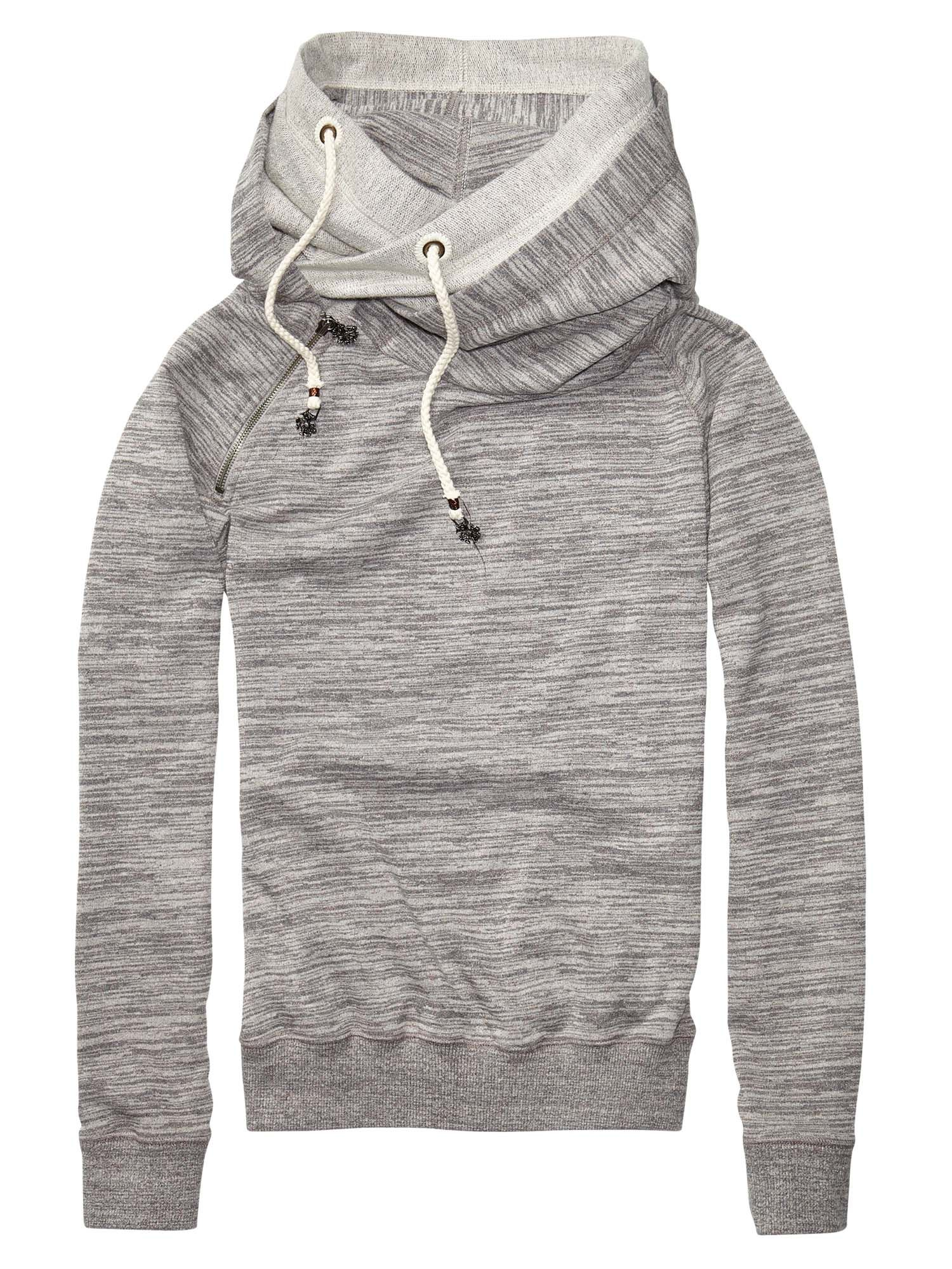 Home Alone Sweater With Double Layer Hood - Maison Scotch ...
