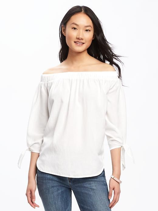 5559ddad0 Old Navy Relaxed Off-the-Shoulder Top for Women