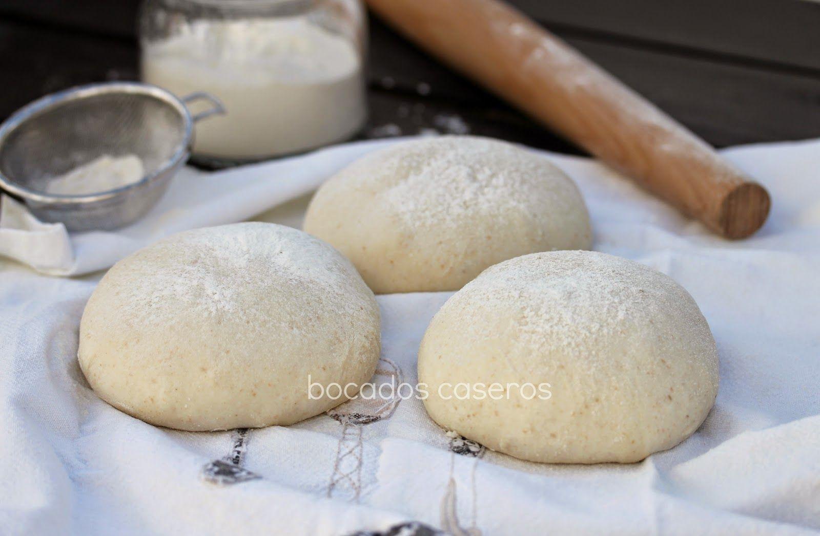 Bocados Caseros Cómo Hacer Masa De Pizza Italiana Fina Y Crujiente Masa Para Pizza Recetas De Panadería Recetas De Pizza