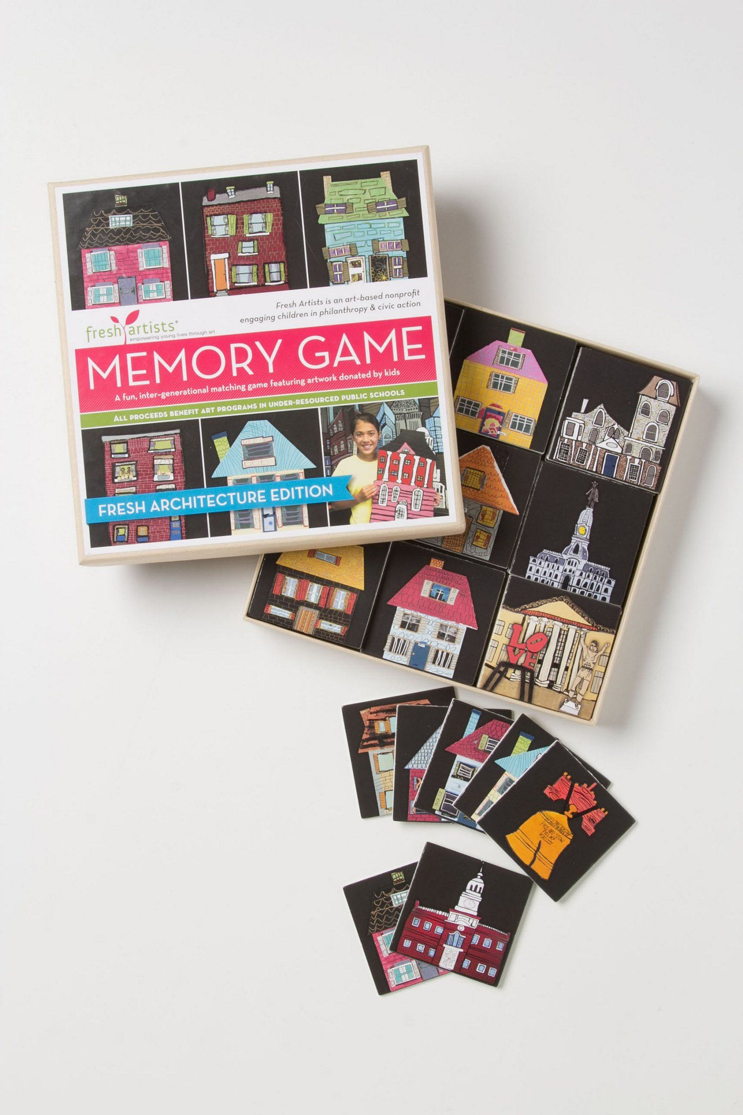 Fresh Architecture Memory Game Atelier enfant, Jeux, Enfant