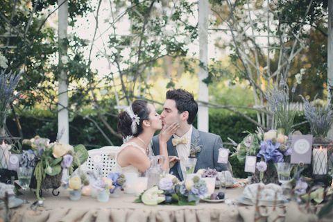 French Garden Wedding Photo Shoot