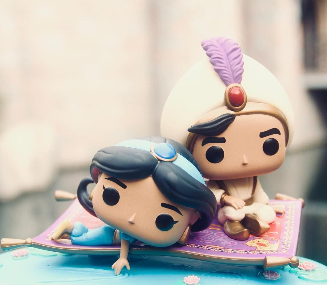 Magic Carpet Ride Movie Moments Disney - Funko Pop Aladdin /& Jasmine