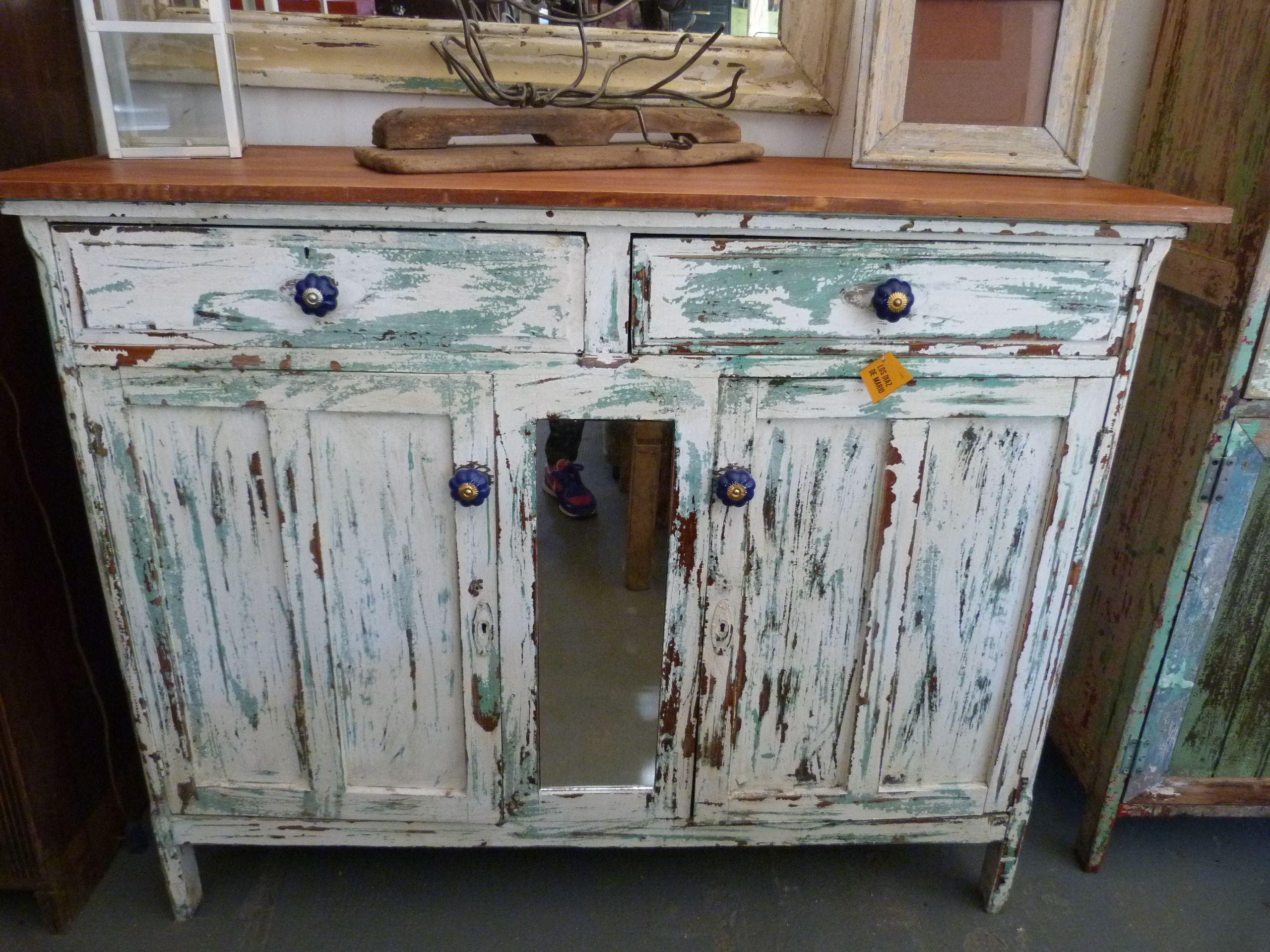 Muebles madera rusticos decoración decoupage reciclar   Muebles ...