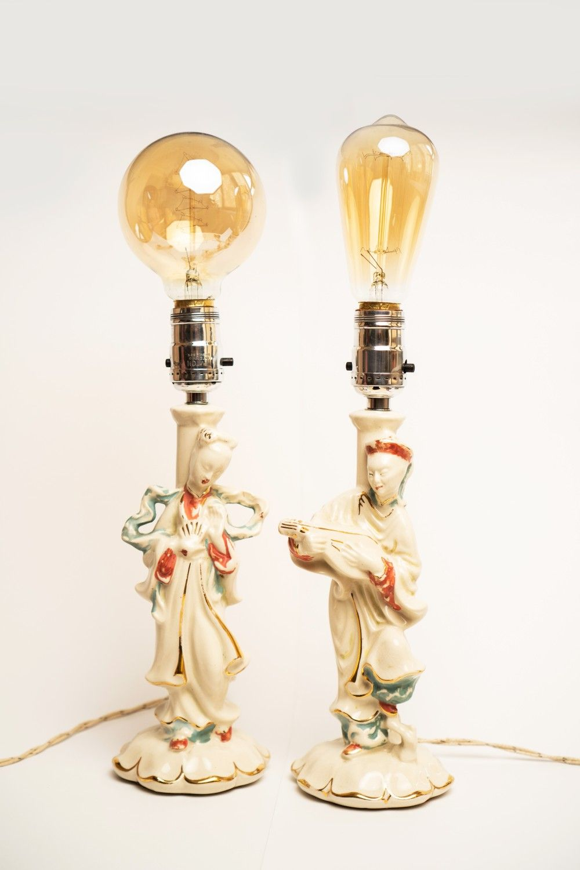 Renovated Vintage Lamps Leviton In 2020 Vintage Lamps Lamp Vintage Porcelain