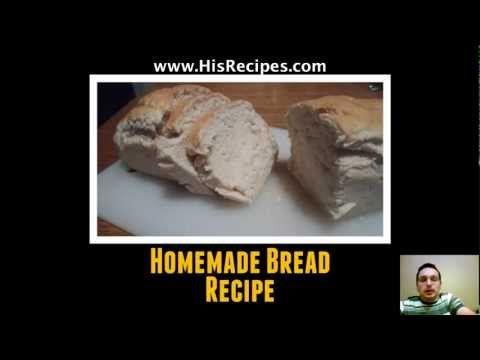 Homemade Bread Recipe - Step-by-step Photo Recipe