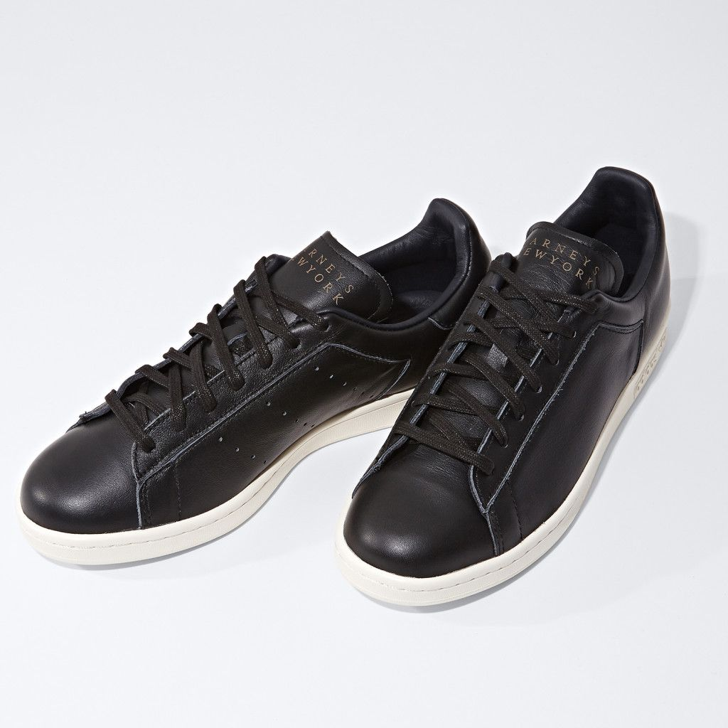 detailed look 2fae4 9b7e9 bnysoleseries Stan Smith Sneakers, Adidas Stan Smith, Logo Stamp, Black  Adidas,