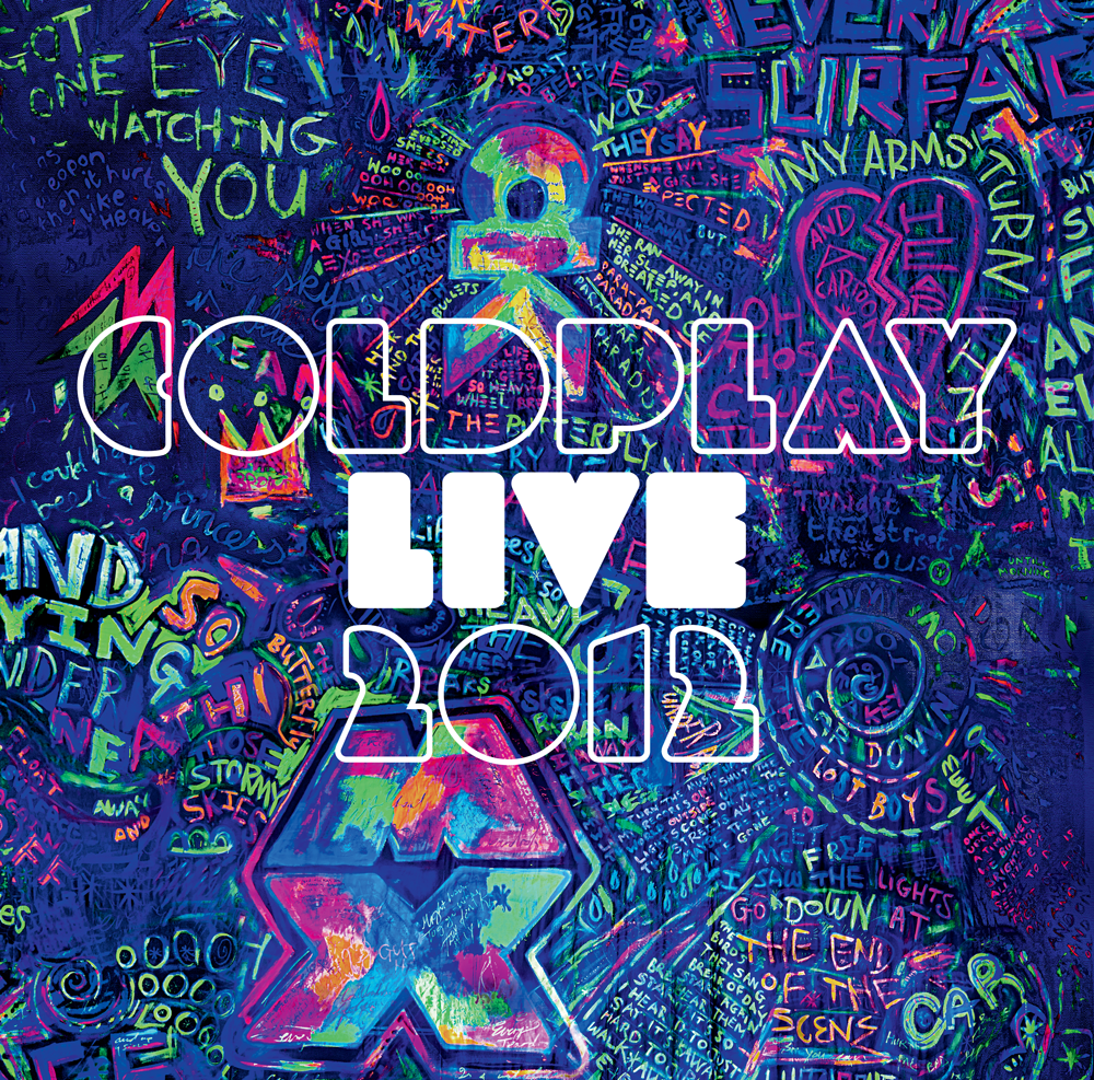 Coldplay Live 2012 - Album Cover #Coldplay #Graffiti # ...