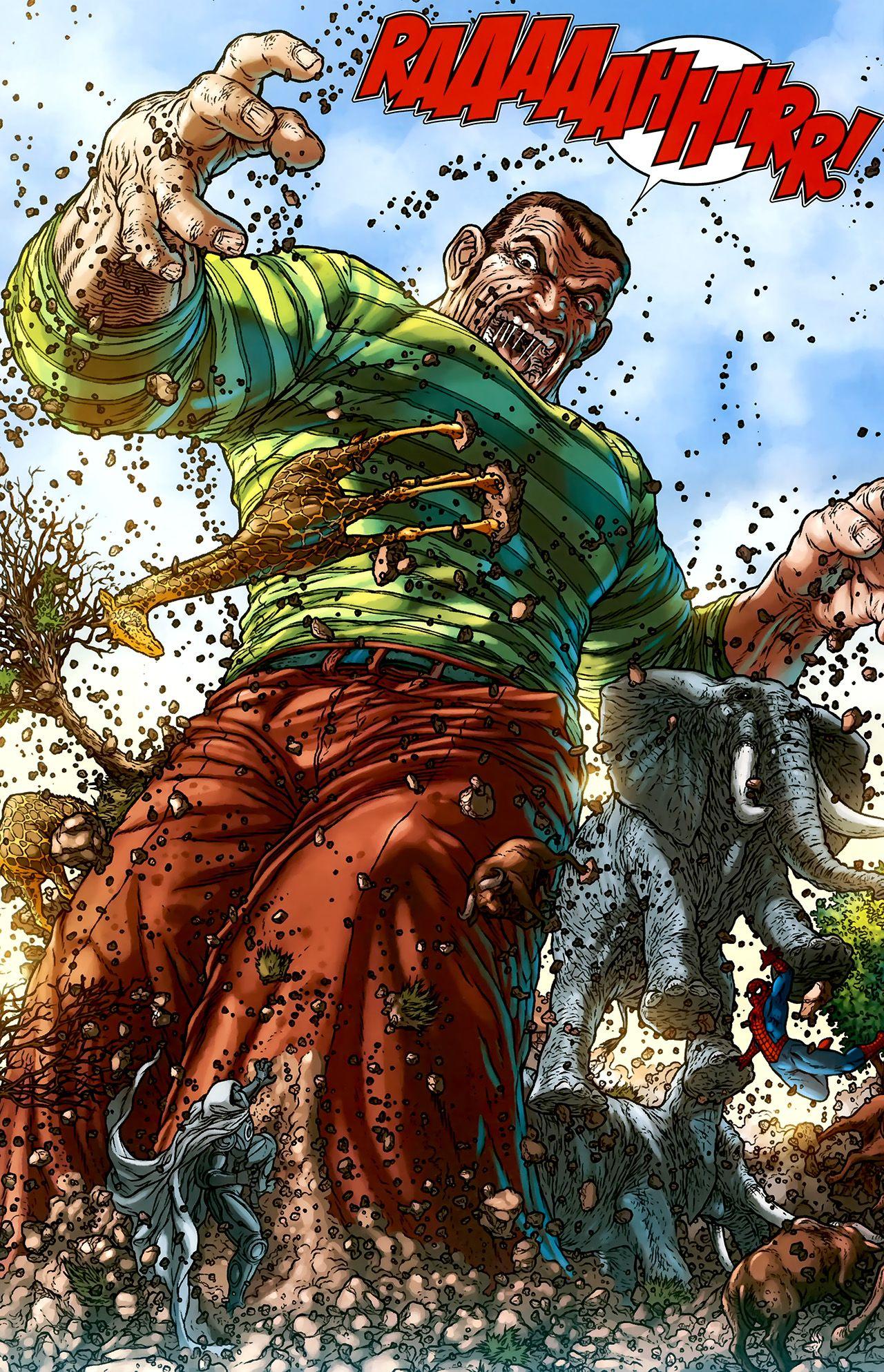Spiderman VS Sandman | Spiderman, Sandman, Comic books