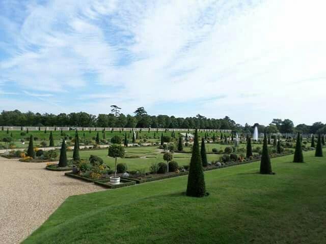 Beautiful gardens at Hampton Court