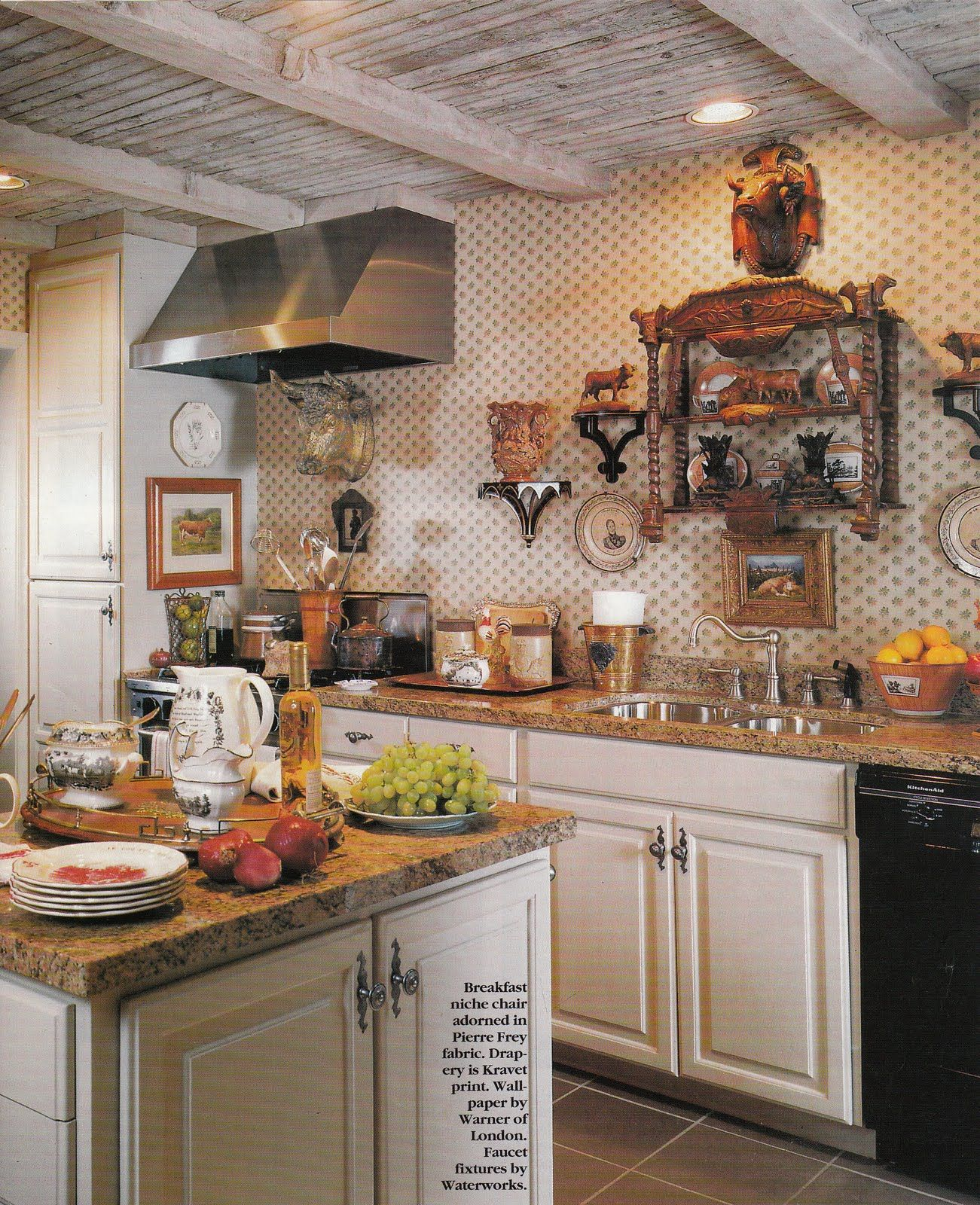 decor design country com kitchen decosee style white