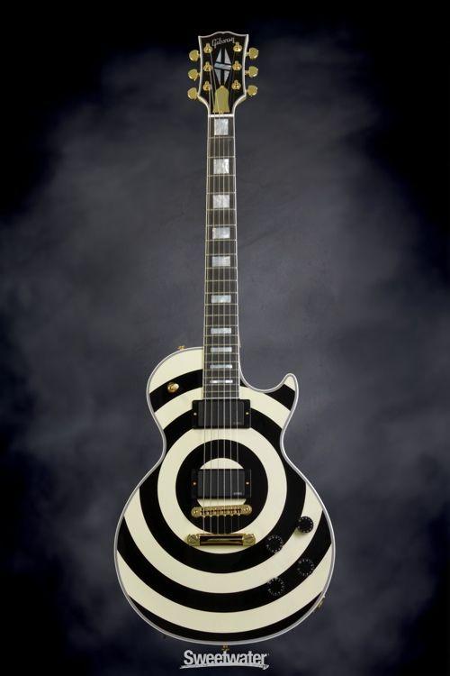 Gibson Custom Zakk Wylde Bullseye Les Paul In 2019